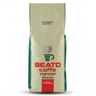 Beato Eletto (Е), Эфиопия, кофе в зернах (1кг), вакуумная упаковка (Доставка кофе в офис) и кофемашина с автоматическим капучинатором, за мкад