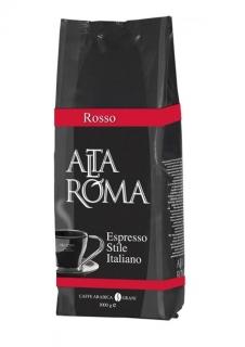 Alta Roma Rosso (Альта Рома Россо), кофе в зернах (1кг), вакуумная упаковка и кофемашина с автоматическим капучинатором, за мкад