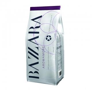 Bazzara Aromamore (Бадзара Аромаморе), кофе в зернах (1кг), вакуумная упаковка и кофемашина с автоматическим капучинатором, за мкад