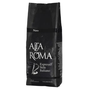 Alta Roma Nero (Альта Рома Неро), кофе в зернах (1кг), кофе в офис, вакуумная упаковка и кофемашина с автоматическим капучинатором