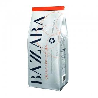 BBazzara Grancappuccino (Бадзара Гранкапучино), кофе в зернах (1кг), вакуумная упаковка для 1группных кофемашин за мкад