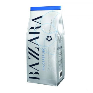 Bazzara Piacerepuro (Бадзара Пиачерепуро), кофе в зернах (1кг), вакуумная упаковка для 1группных кофемашин за мкад