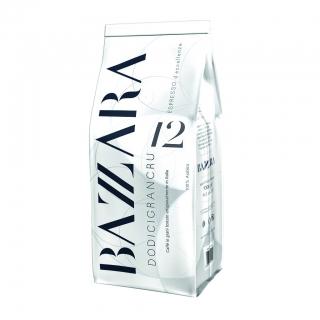 Bazzara Dodicigrancru (Бадзара 12 Гранкру), кофе в зернах (1кг), вакуумная упаковка для 1группных кофемашин за мкад
