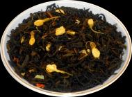 Чай зеленый HANSA TEA Жасминовый сад, 500 г, фольгированный пакет, крупнолистовой зеленый ароматизированный чай