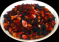 Чай фруктовый HANSA TEA Наглый Фрукт, 500 г, фольгированный пакет, крупнолистовой фруктовый чай, купить чай