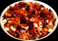 Чай фруктовый HANSA TEA Бабушкин Сад, 500 г, фольгированный пакет, крупнолистовой фруктовый чай, купить чай