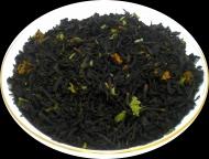 Чай черный HANSA TEA Клубника со сливками, 500 г, фольгированный пакет, крупнолистовой ароматизированный чай