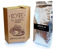Кофе в зернах СВЕЖЕЙ ОБЖАРКИ Esperanto KENYA AA (Эсперанто Кения АА), моносорт, 0,5 кг