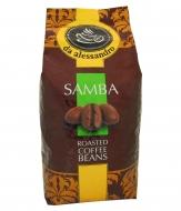 Кофе в зернах Da Alessandro Samba art.46 (Де Алессандро Самба арт.46) 1кг, вакуумная упаковка