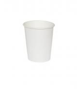 Стакан картонный одинарный под горячие напитки, 100 мл, 100 шт./уп.
