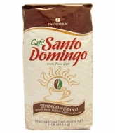 Santo Domingo Iostado en Grano (Санто Доминго Лостадо эн Грано), кофе в зернах (453г), вакуумная упаковка
